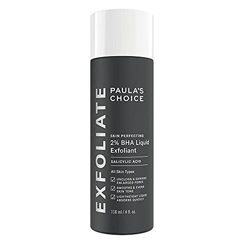 Paula's Choice Skin Perfecting 2% BHA Liquid Peeling - Gesicht Exfoliator mit Salicylsäure gegen Mitesser, Pickel & Unreine Haut - Poren Verkleinern - Mischhaut, Fettige &...