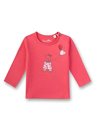 Sanetta Shirt, Rouge (Strawberry 3458), 95 (Taille Fabricant: 080) Bébé Fille