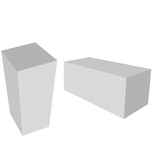 Spenger-Moebel PUR Schaumstoff Block, Schaumstoff SItzkissen, Schaumstoff RG 25/38 (40x20x30 cm)