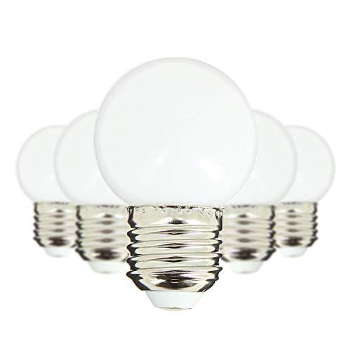 Lot de 5 ampoules blanche chaude pour guirlande de jardin | Xanlite