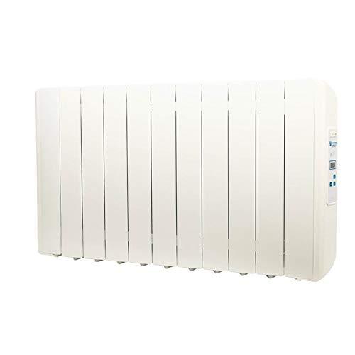 farho Radiador Electrico Eco Green 1210W (11) · Emisor Termico con Termostato Digital Programable 24/7 · Radiadores Electricos Bajo Consumo para Estancias de hasta 18 m² · 20 AÑOS DE GARANTÍA