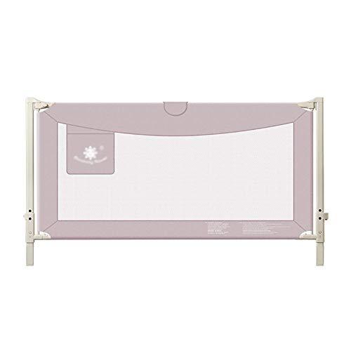 Baby Lange Sicherheitsrampe Bedrail Safety Guard ist geeignet für Kinderzüge, Einknopf, 150-200cm lang (Farbe: PINK, Größe: 200cm)