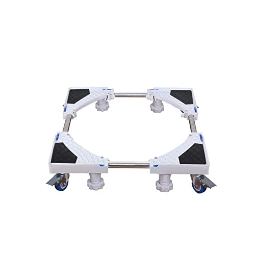 LYMHGHJ Soporte de Soporte para frigorífico y congelador con Base Ajustable móvil, Carrito telescópico para Muebles, Largo/Ancho, 42-65 cm, Estante para Aire Acondicionado Vertical, lavavajillas,