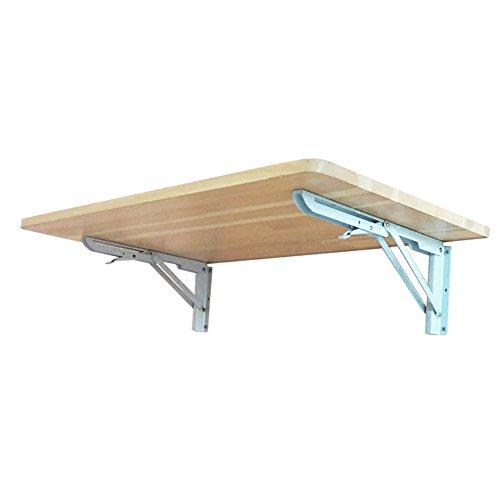 DS mesa plegable Small Lifetime Wall Folding Table Wood Heavy Duty Wooden...