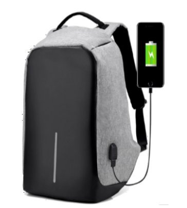 2018 Best Sell Fashion Multifunctional Chargeable Backpack Bag Laptop with USB Connector Travel Laptop Bag Backpack Bag