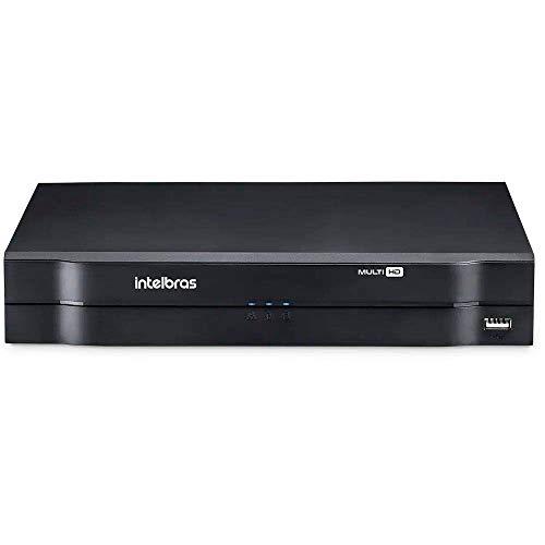DVR 8 Canais Intelbras HD 720p + 2 IP H.265+ Até 12TB 5 em 1 Modo NVR Ipv6 Onvif S - MHDX 1108