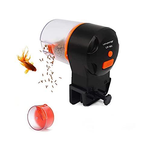 Lefunpets Automatic Fish Feeder, Aquarium Tank Timer Auto Feeder Cover