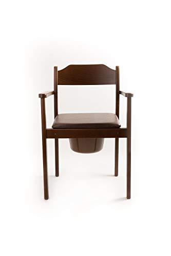 Chaise de toilettes hygiénique, chaise de nuit, design haut de...