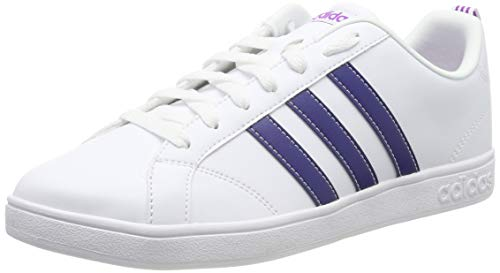 Adidas Tenis VS Advantage BB9620 para Mujer, color Blanco, talla 25