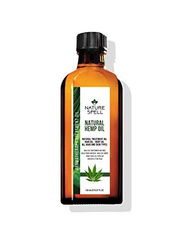 Nature Spell Hemp Treatment Oil For Hair & Body 150ml / 5.07 FL OZ