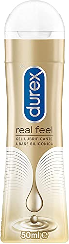 Durex Pleasure Gel Lubrificante Intimo, Real Feel, 50 ml