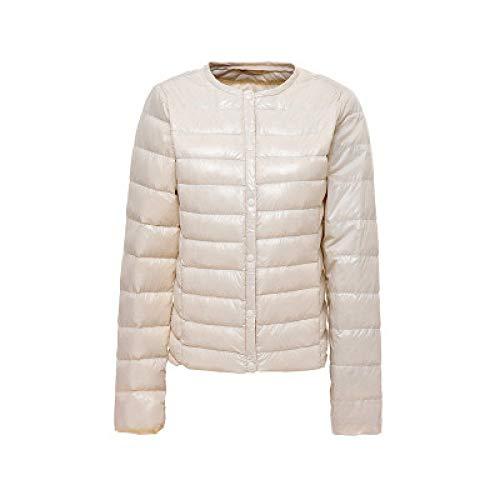 DPKDBN donsjack, mantel witte eendendonsjas O-hals draagbare donsjas vrouwelijke jas warme bovenkleding