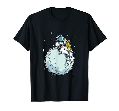Astronauta Tocando Saxofón Jazz Música Amante Del Saxofón Camiseta
