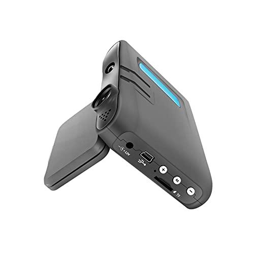 WFBD-CN Detector de radares 2 en 1 720p Coche DVR Velocidad Móvil Radar DVR DVR Dashboard Cámara Velocímetro Velocidad Móvil Radar Detect Detect Protect