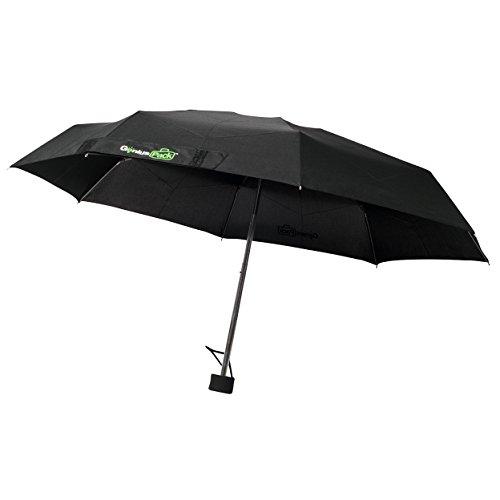 Genius Pack Micro Travel Umbrella v3.0 - Improved Frame - No-Hassle Locking Mechanism
