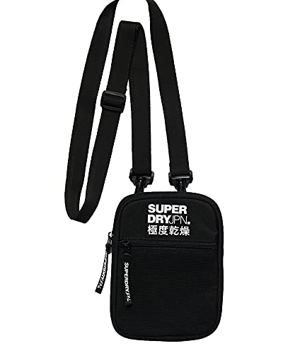 Superdry Umhängetasche SPORT POUCH Black, Size:ONE SIZE