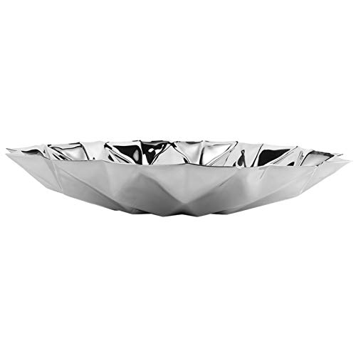 Omabeta Platos Diamond para Almacenamiento de Alimentos Salver Retro High-End para Club