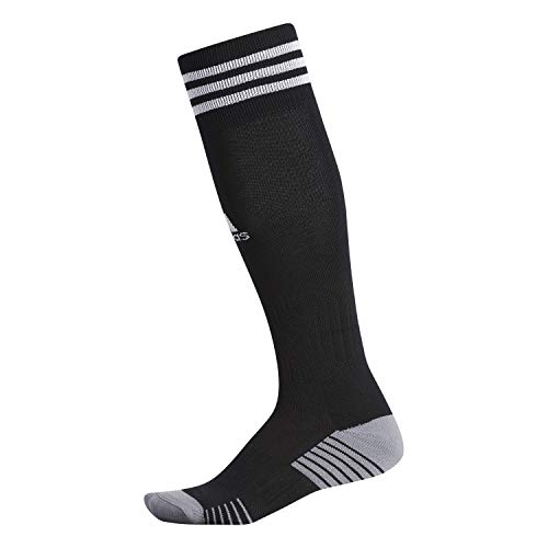 adidas Unisex-Adult Copa Zone Cushion 4 Soccer Socks (1-Pair), Black/White, Medium