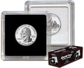 BCW 2×2 Coin Snap Holder (Quarter)