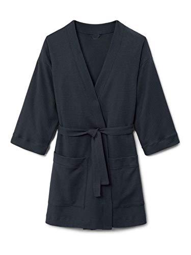 CALIDA After Shower Bademantel in Kimono-Schnittform, Länge 85cm Damen
