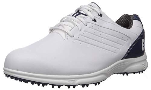 FootJoy Men's FJ ARC SL-Previous Season Style Golf Shoes White 9 XW Navy, US
