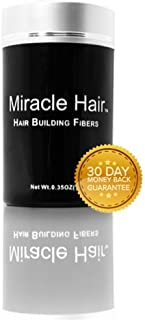Miracle Hair Building Fibers: Full Head of Hair 60 Seconds or Less! (25g, Blonde)