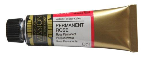 Mijello Mission Gold Class Water Color, 15ml, Permanent Rose