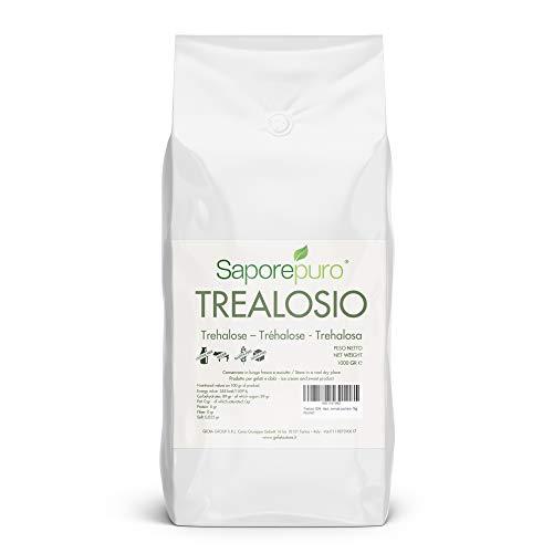 100% TREHALOSA - Ideal para helado gastronómico - Menos dulce que un azúcar normal - 1 kg