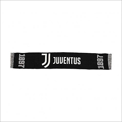 Schal Juventus Turin, Farbe: Schwarz, JJ11