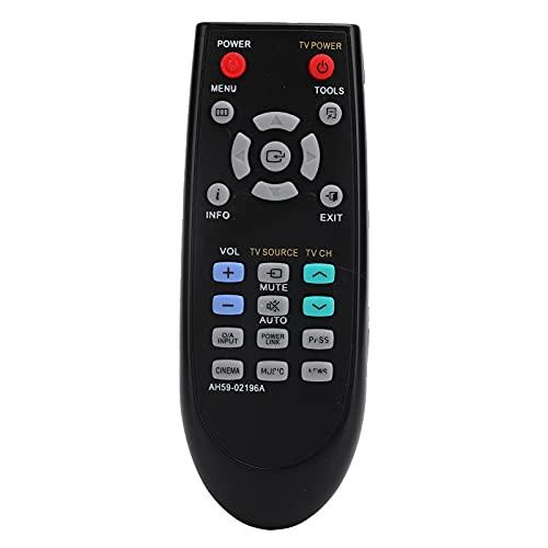 Control remoto, reemplazo de control remoto, unidad de control remoto de audio de Smart TV, material ABS, compatible con Samsung Home Theater AH59-02196A