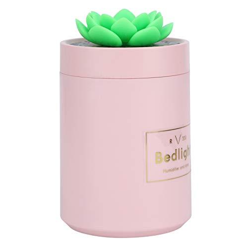 Tomanbery Humidificador Duradero para Coche, fácil de Rellenar, ambientador para Coche, humidificador de Aire Compatible, Ultra silencioso para la Oficina del Coche en casa(Pink)