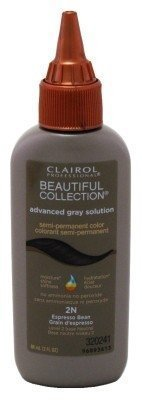 Clairol Beautiful Advanced Gray Solution Collection #2N Expresso Bean 3oz (3 Pack) by Clairol