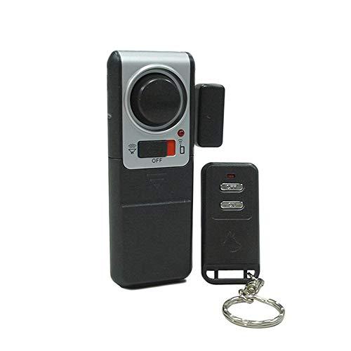 MOMIN Sensor de Puerta inalámbrica de Alarma Chime Alarma de la Puerta de la Ventana 100db Piscina Disparar Imán Activado Security Security para Puertas Windows Tienda de la Puerta de la Puerta Chime