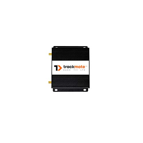 TrackmateGPS DASH T11 4G/LTE Tracker for Vehicles. Real Time,Hard Wired, Optional Wiring for Kill Switch,Door Lock/Unlock, Ideal for Turo/Hyre Fleets. No Contract. 24/7 Activation. US customer support