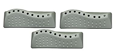 KGA-SUPPLIES 3 x BUSH Washing Machine Drum Paddle Lifter Blade Fins F621QB F621QS F621QW