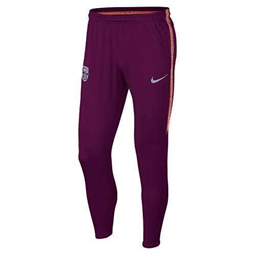 Nike FCB M NK Dry SQD Pant KP Hose Herren Mehrfarbig (DEEP Maroon/LT Atomic PINK)
