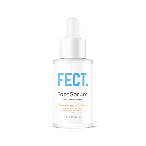 Vitamin C Enriched Face Serum with Niacinamide Hyaluronic Acid Vitamin E Vitamin B5 [Fragrance-Free]