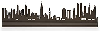 Manhattan New York City Skyline by Valerie Atkisson, Oiled Bronze