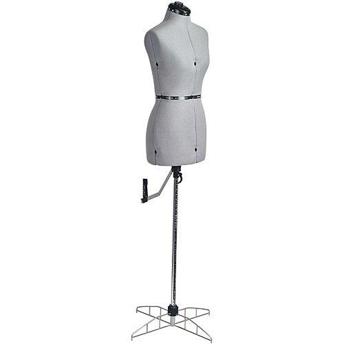 Adjustable Mannequin Fashion Maker Domestic Petite Dress Form For Sewer and Apparel Designer
