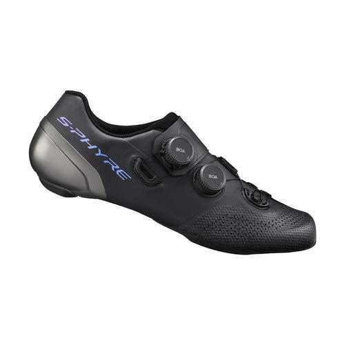 SHIMANO S-PHYRE RC9 (RC902) SPD-SL Zapatos Talla 44 Negro
