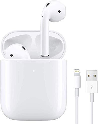 Auricolare Bluetooth 5 auricolare wireless microfono integrato touch auricolare in-ear, auricolare...