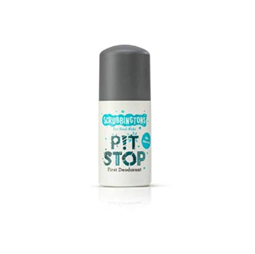 Scrubbingtons Pit Stop Children's First Natural Deodorant, 1 x 50ml