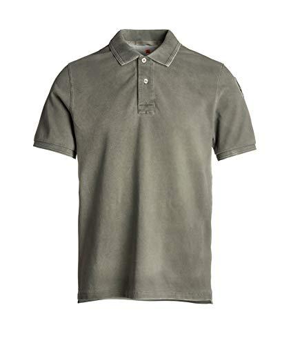 Parajumpers Herren Piqué Poloshirt Shirt Basic Polo aus Reiner Baumwolle
