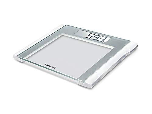 Soehnle digitale Personenwaage Style Sense Comfort 200, große, starke und extraflache Personen Digitalwaage, formschöne Waage mit LCD-Anzeige, Gewicht bis 180kg