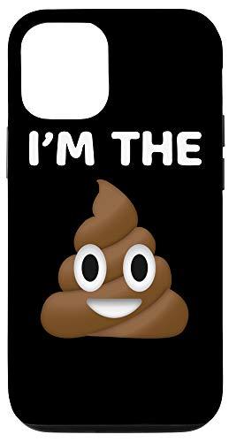 iPhone 12/12 Pro Emoji I'm the Poop Poo Funny Cute Humor Case