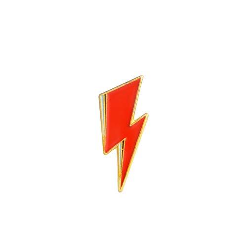 Emaille Pin Königin David Bowie Broschen-Beutel-Kleidung-Revers-Abzeichen Rock and Roll Band Schmuck Musikfreunde, David Bowie
