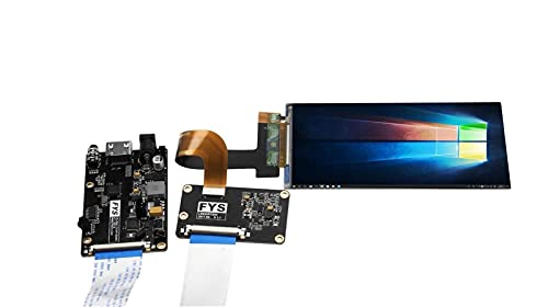 Auoeer Computer Accessories, 2K LS055R1SX03 5.5 inch LCD Screen Display Module with HDMI MIPI Driver Board for Wanhao Duplicator 7 SLA 3D Printer/VR