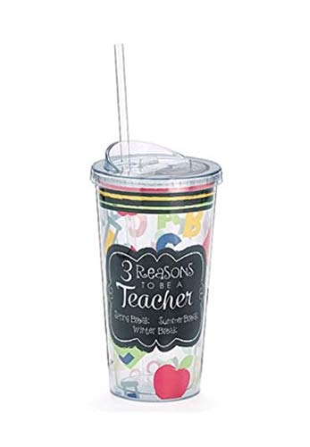 '3 Reasons To Be A Teacher' 20 oz Travel Cup