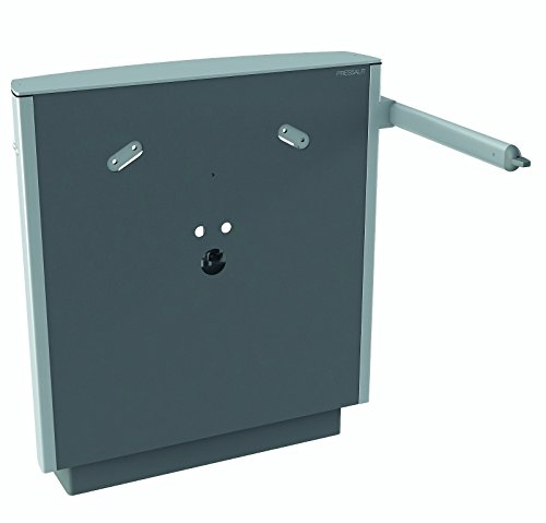 Pressalit R4950112 elektrischer Waschtisch-Lifter höhenverstellbar, Waschbecken behindertengerecht, barrierefrei für Senioren (75 x 67 x 17 cm, Belastbarkeit 100 kg) anthrazitgrau