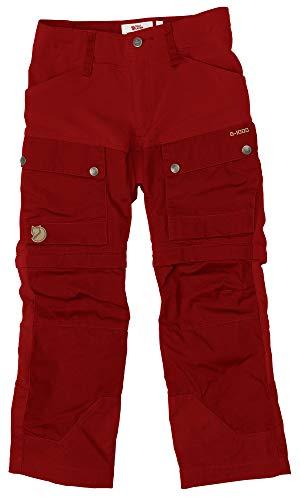 FJÄLLRÄVEN Keb Gaiter Trousers Hose, Unisex Kinder M orange (Lava)